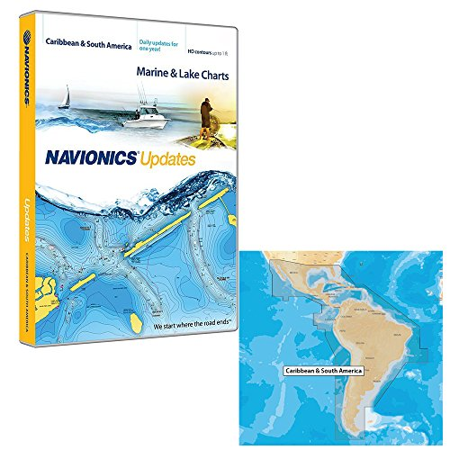 Cheap Navionics Updates – Caribbean & South America – microSD/SD