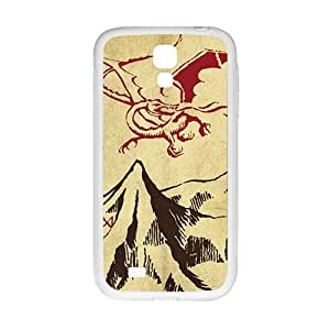 RHGGB Unique mountain and red dinosaur Cell Phone Case for Samsung Galaxy S4