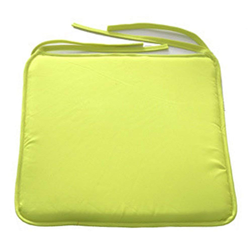 OPSLEA Square Chair Pad Cushions Luxury Square Dining Chair Cushions Water Resistant Office Decoration