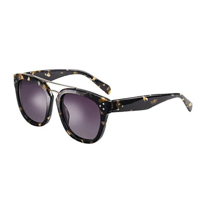 Gafas de sol retro Gafas de sol de mujer Gafas polarizadas de cara redonda Gafas de