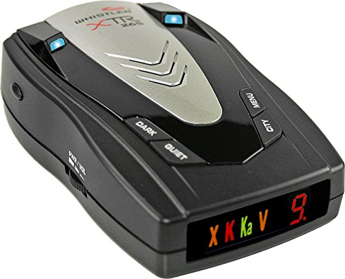 Whistler XTR-265 Laser Radar Detector with Icon Display and Tone Alerts
