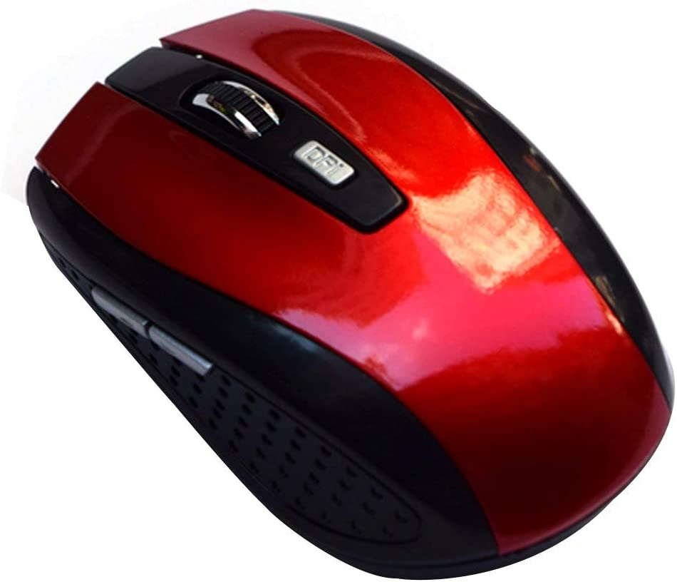 2.4G Wireless Mouse Portable Optical 6 Buttons 1200 DPI Mice For Computer PC Laptop Gamer Black Blue Green Red Color Mouse Kavas