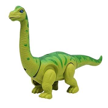 B Blesiya Juguete de Dinosaurios Eléctricos en Movimiento ...