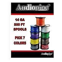 Choose 7 colors 14 Ga 500 ea Audiopipe Car Audio Home Primary Remote Wire