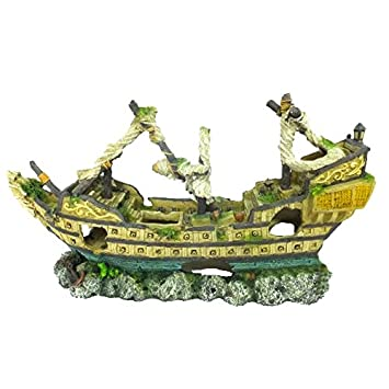 Red Aqua Della Galleon - Decoración para Acuario: Amazon.es: Productos para mascotas