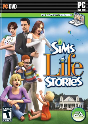 The Sims Life Stories - PC (Sims Game For Computer)