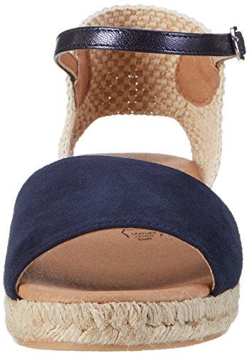 Donne Nere 282192 Sandali Con Il Cinturino Blu (navy)