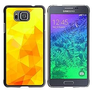 Jordan Colourful Shop - Yellow Sunny Summer Poly Warm For Samsung ALPHA G850 Custom black plastic Case Cover