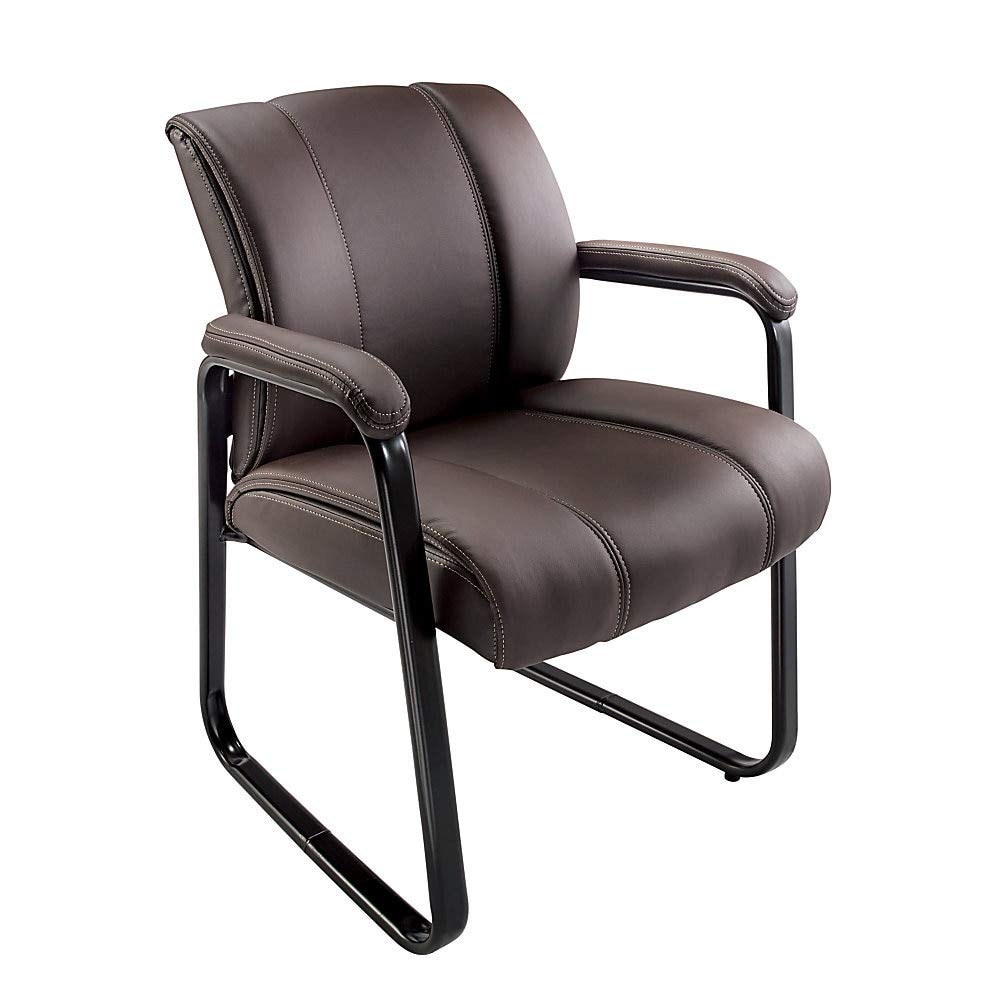 Brenton Studio Bellanca Guest Chair, Brown/Black by Brenton Studio