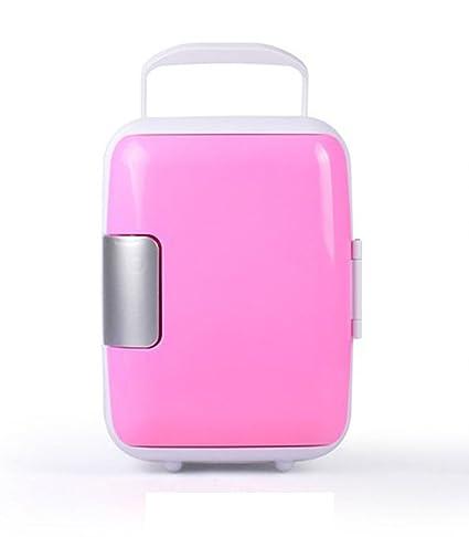 Mini Refrigerador Pequeño Del Coche 4L Refrigerador Portátil Del Viaje Del Coche Refrigerador Casero Del Refrigerador