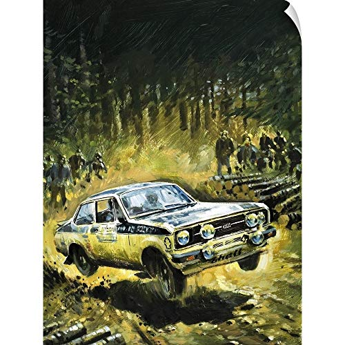 Stage Rally (Graham Coton Wall Peel Wall Art Print Entitled 70 Stages to Success, The Story of Britain's Toughest Motor Rally, 1981 18