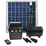 ASC 16 Watt Solar Power Panel Kit Water Pump Fountain Pool Garden Watering with Timer Control and Remote