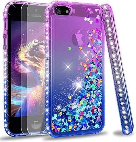 iPhone 5S Case, iPhone 5 Case,iPhone SE 2016 Case for Girls Women ...