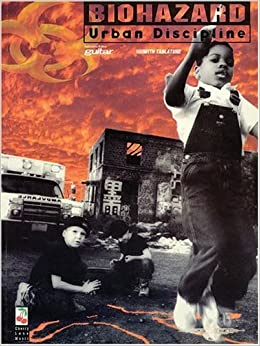 Biohazard: Urban Discipline, Authorized Edition for Guitar with Tablature by Biohazard (1994-12-01)