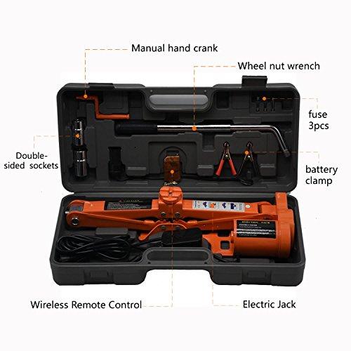 electric jack 3 ton - 8