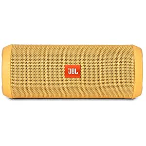 JBL Flip 3 Splashproof Portable Bluetooth Speaker (Yellow)