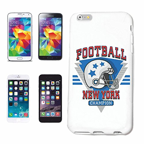 "cas de téléphone iPhone 6+ Plus ""FOOTBALL NEW YORK FOOTBALL FOOTBALL AMÉRICAIN ÉQUIPE BUNDESLIGA COLLEGE FOOTBALL ÉQUIPE DE BASEBALL SHIRT ÉQUIPE DE FOOTBALL"" Hard Case Cover Téléphone Covers Smart Co"