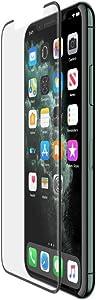 Belkin InvisiGlass UltraCurve Screen Protector for iPhone 11 Pro (iPhone 11 Pro Screen Protector, iPhone 11 Pro Glass Screen Protector), iPhone 11 Pro/XS/X (F8W943zzBLK)