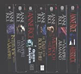 Anne Rice 7 Book Set ''Interview with the Vampire'', ''The Vampire Lestat'', ''Queen of the Damned'', ''The Tale of the Body Thief'', ''Memnoch the Devil'', ''The Vampire Armand'' and ''Merrick'' (Vampire Chronicles)