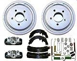 Mac Auto Parts 144464 Rear Brake Drums Shoes Spring Kit Wheel Cylinder Ranger B2300 B3000 B4000 10inch