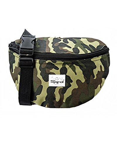 [iHeartRaves Camo Print Fanny Pack, Small Waist Pack for Raves, Festivals, Clubwear] (Halloween Costume Ideas 2016 Men)