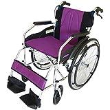 カドクラ kadokura 自走用車椅子 Proシリーズ チャップスDB カクテルパープル A101-DBAPP