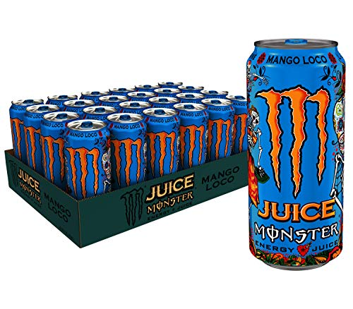 (Juice Monster Mango Loco, Energy Drink, 16 Ounce (Pack of)