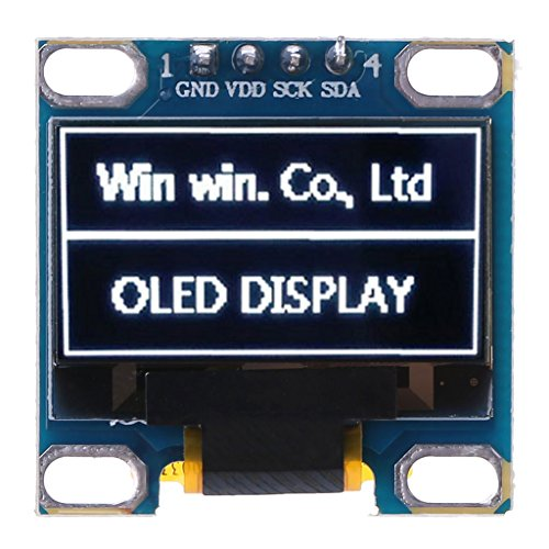 Youngy 0.98'' OLED Module White Color 128X64 LCD Display IIC Module DIY for Arduino