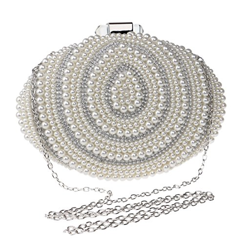 Evening Ladies Beaded Evening American Fly And European Color Silver Bag Fashion New Bag evening Banquet Silver Pearl Bag bag wEfAAn8x