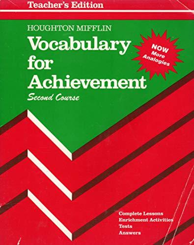 Vocabulary For Achievement (Second Course)