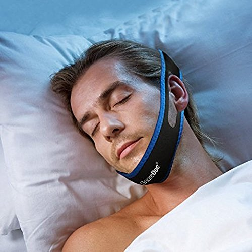 SnoreDoc™ Snore Stopper Chin Strap – Anti Snoring Solution – Natural And Instant Snore Relief Sleep Aid Device – NEW AND IMPROVED