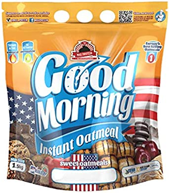 Max Protein Good Morning Instant Oatmeal - 1,5 kg Brownie: Amazon ...