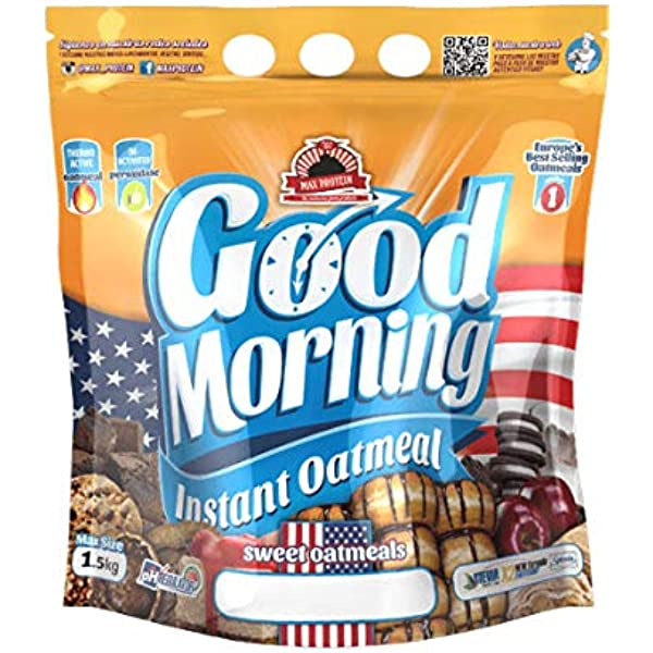 Max Protein Good Morning Instant Oatmeal - 1,5 kg Rocher: Amazon ...