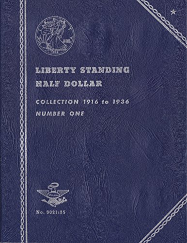 1916-1936 LIBERTY STANDING HALF DOLLAR 35 COIN COIN; ALBUM, BINDER, BOARD, BOOK, CARD, COLLECTION, FOLDER, HOLDER, PAGE, PORTFOLIO, PUBLICATION, SET, VOLUME