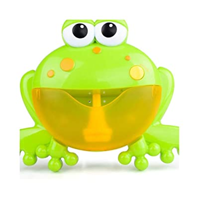 JiaJa Arrival Blowing Bubble Crabs Baby Bath Toy Funny Bath Bubble Maker Pool Swimming Bathtub Soap Bubbles Machine Toys for Kids,2: Toys & Games