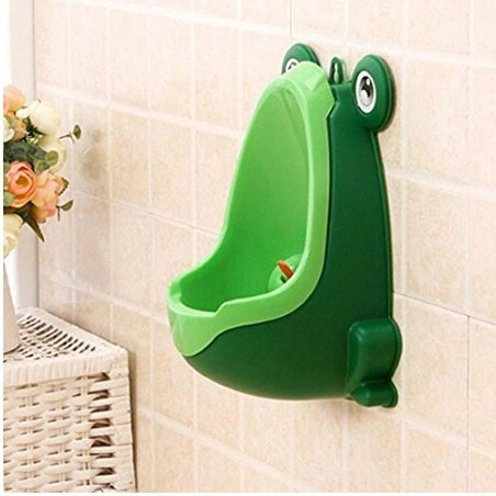 URBeauty 1PCS Cute Frog Shaped Baby Boy Potty Toilet Training Boy Stand Vertical Urinal Boys Penico Pee Infant Toddler Wall-Mounted