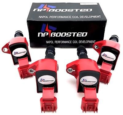 4 pcs Ignition Coils Saturn Chevrolet Buick GMC Pontiac Saturn C1552 UF491 D517A by NpBoosted