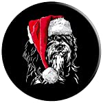 Funny Tibetan Terrier Santa Christmas dog mom gift present PopSockets Grip and Stand for Phones and Tablets 6