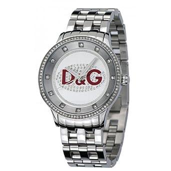 e090cd2d045 Dolce Gabbana - DW0009 - Montres D G Femme - Montre Femme - Forme Ronde -  Bracelet