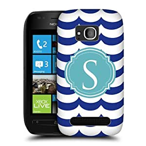 Head Case Designs Letter S Cases Hard Back Case Cover for Nokia Lumia 710
