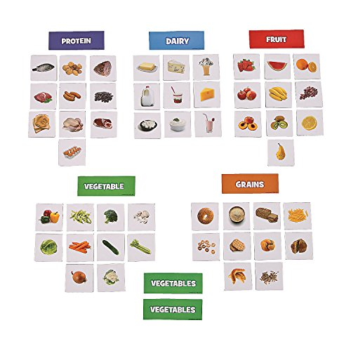 My Plate Food Health Sorting Magnets (55 Piece) 4