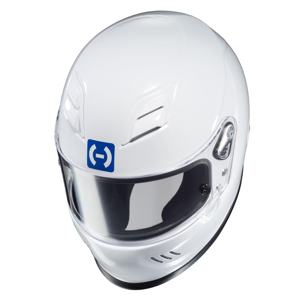 Medium HJC Helmets HJC-2WM15 AR-10 III SA2015 Racing Helmet White