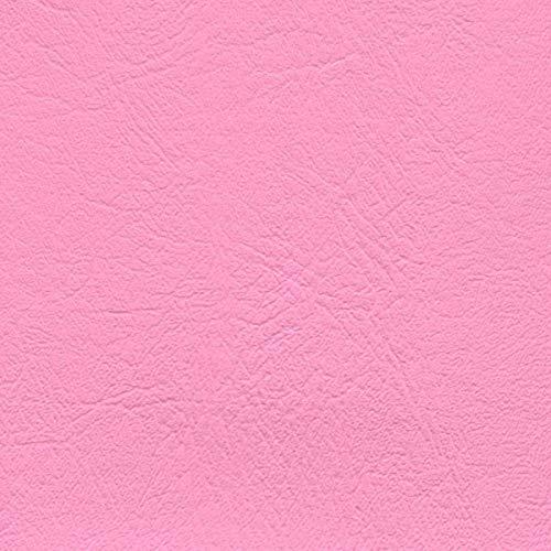 Vinyl Upholstery Fabric Bright Pink 54