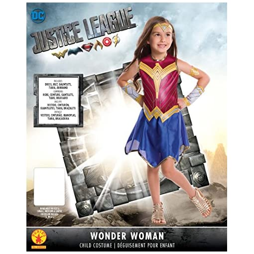 Rubie's Justice League Child's Wonder Woman Costume, Small