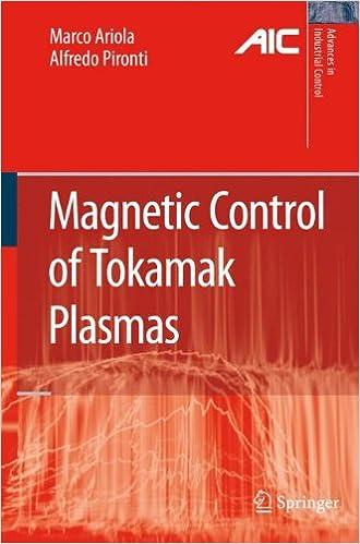 Magnetic Control Of Tokamak Plasmas por Marco Ariola epub