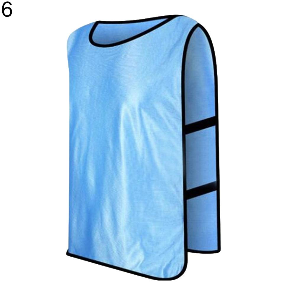 rycnet Verstellbare Kinder Jugendliche und Erwachsene Training Sport Fu/ßball Basketball Shirt Teamuniform Neujahr Geschenk