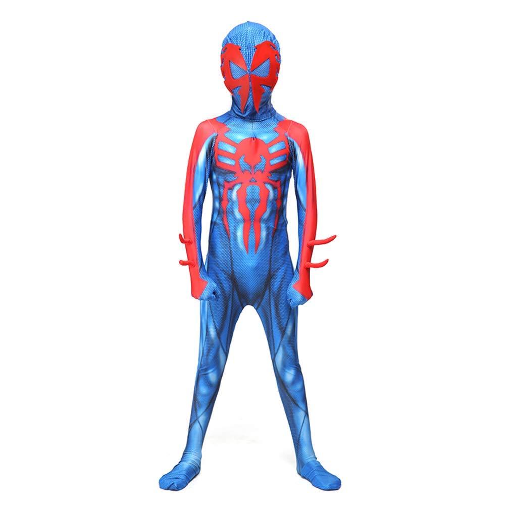 Adult XXL Spiderhomme Cosplay Costume HalFaibleeen voiturenaval Marvel Fan Enfant Adulte Collants Body Combinaison