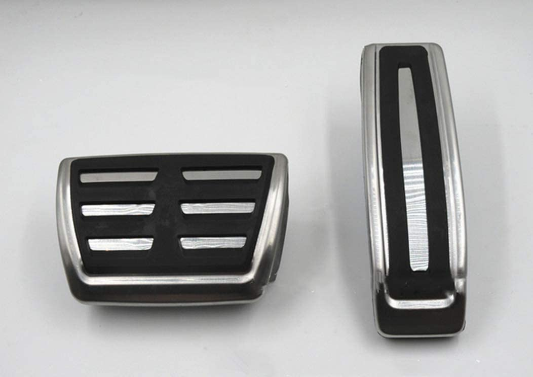 For Q5 accelerator Car Replacement pedal Rest Pedal Brake And Gas Pedal Covers Accessories Pedals Set Non-Slip AT 3Pcs