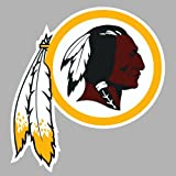 "Washington Redskins Cornhole Wall Art Decal Sticker Vinyl Graphic New 13"" X 12"""