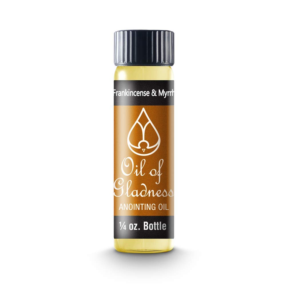 Anointing Oil-Frankincense & Myrth 1/4 Oz